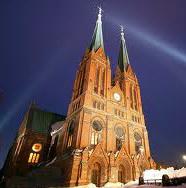 Illustrasjon Skien kirke 1319138381