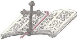Illutrasjon Bibel og Kors