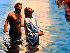 Illustrasjon Jesu dåp 1308593323