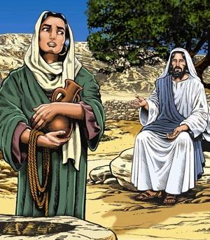 Illustrasjon Samaritanske kvinne 1326717023
