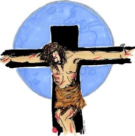 Opplesning Jesus på korset