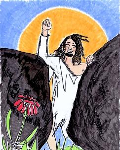 Illustrasjon Jesus oppstår
