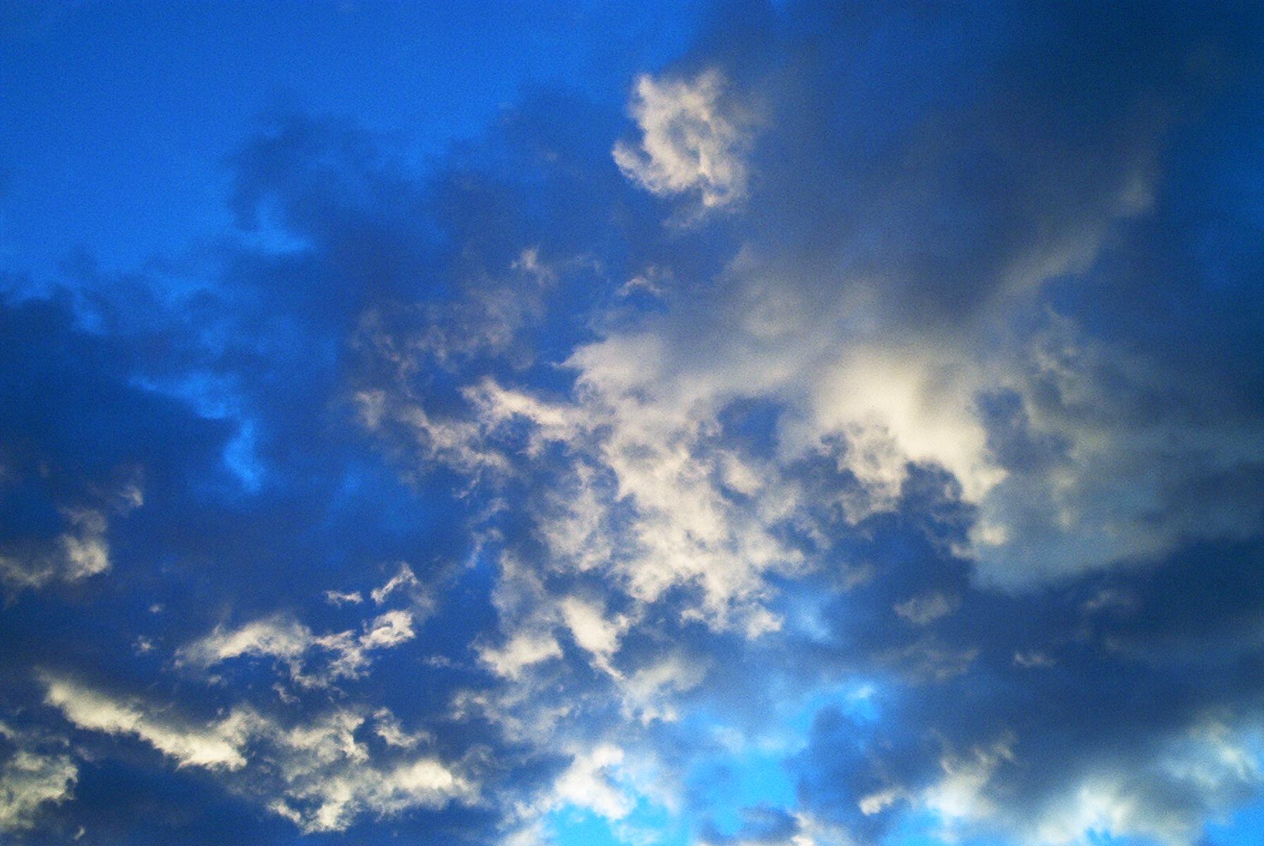 Illustrasjon skyer