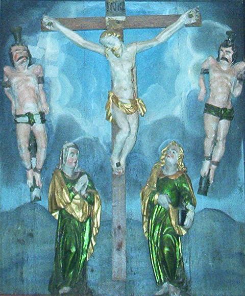 Altertavle - Jesus på korset