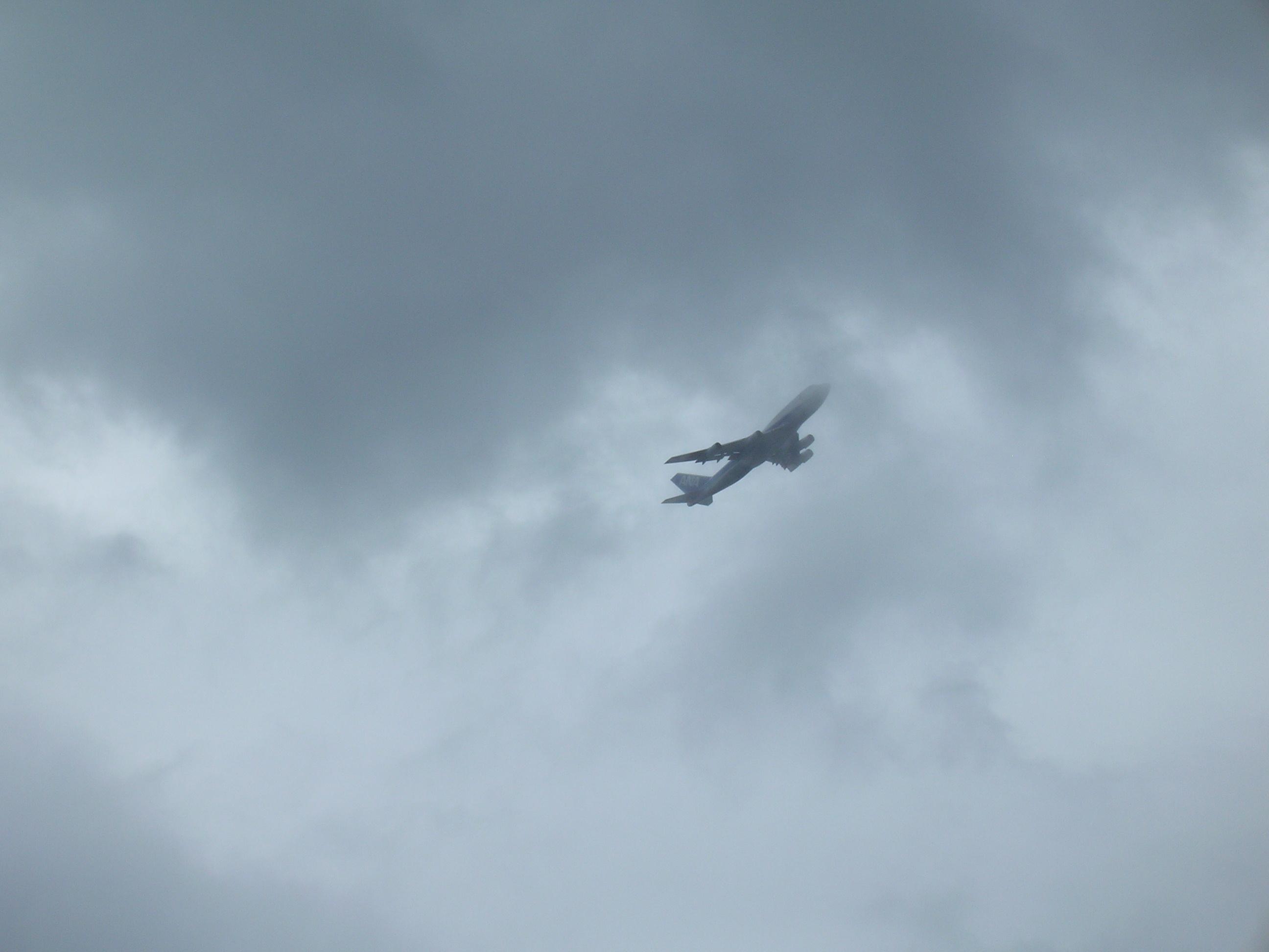 Fly i skyer