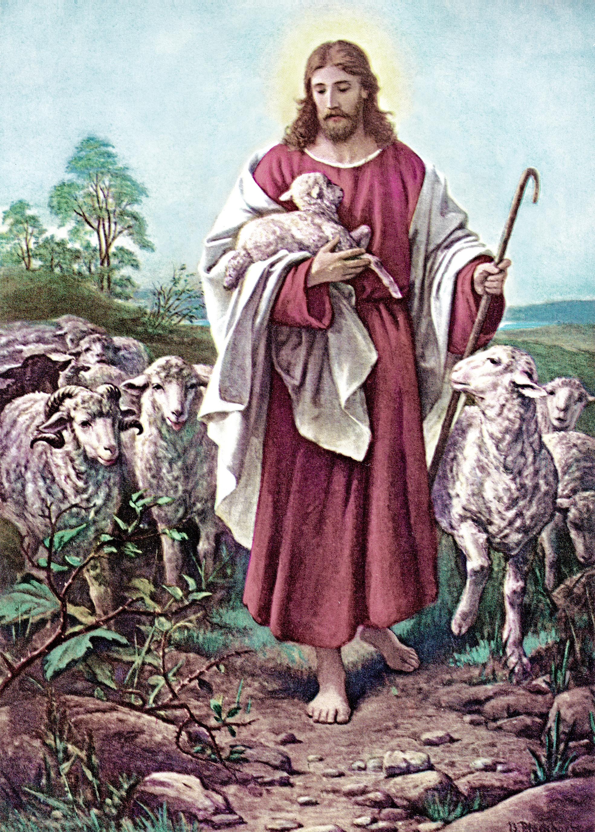 Jesus hyrdingen