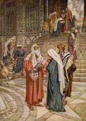 jesus og Simeon i tempelet