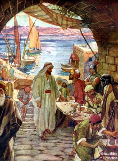 Jesus kaller Levi