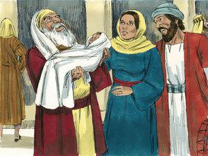 Simon og Jesusbarnet